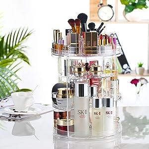 Round Makeup Organizer