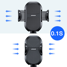 Easy operation iPhone car mount