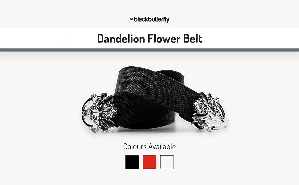 Dandelion Flower Belt