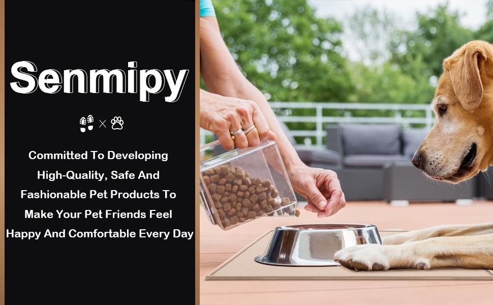 Senmipy Silicone Dog Food Mat