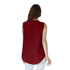 solid color blouse for women