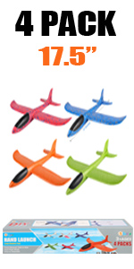 4 pack pure airplane toys