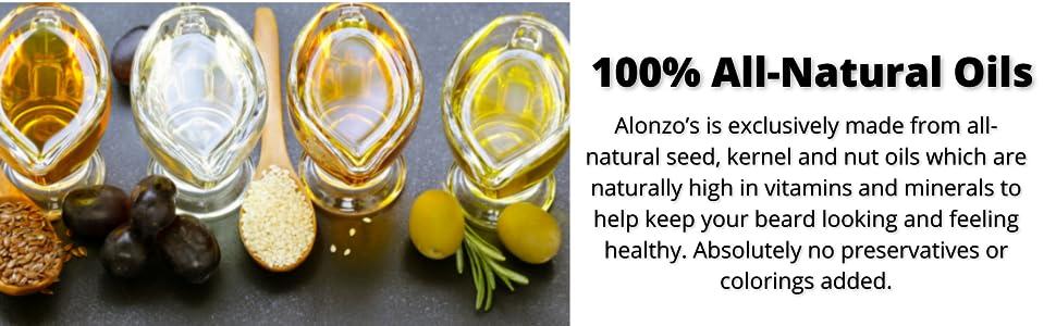 Alonzo's Shave Oil