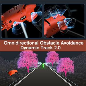 Autel Robotics EVO II Drones Omnidirectional Obstacle Avoidance Dynamic Tracking