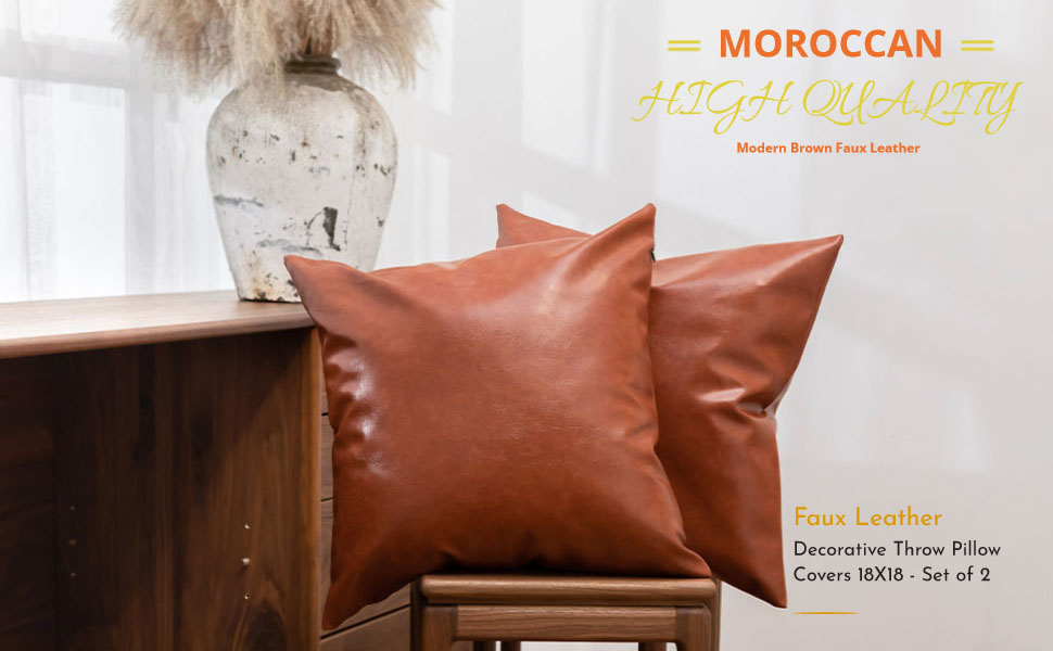 modern pillow covers tan light brown home decor boho zippered decorations living room