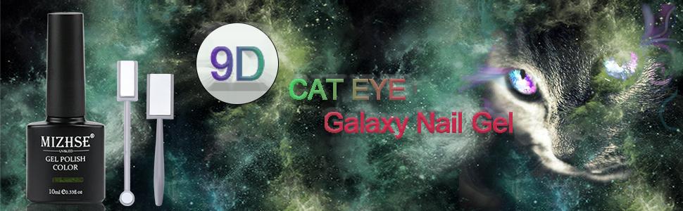 9D cat eye nail gel