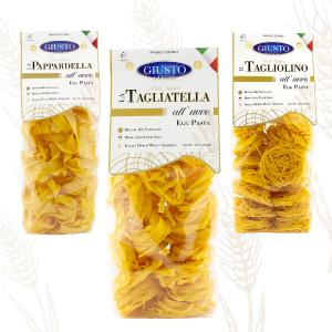 Italian Egg Pasta Tagliatella Pappardella Tagliolino