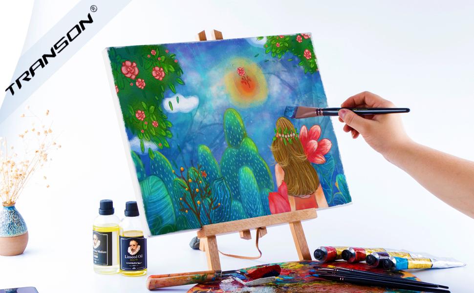 paint brushes artist