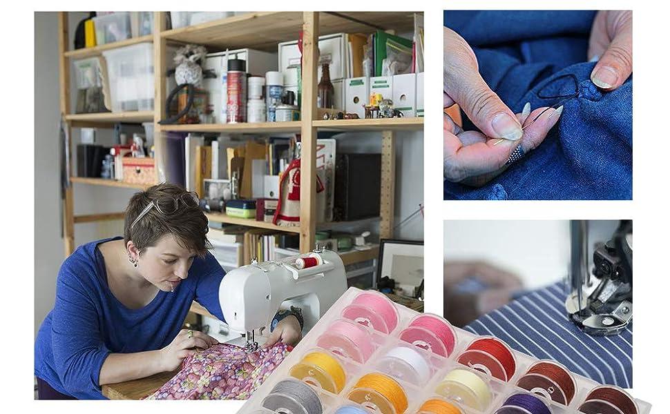 sewing bobbin threads