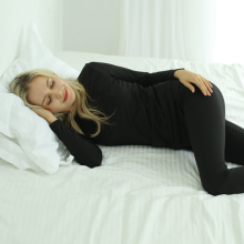 soft warm thermal underwear set for woman