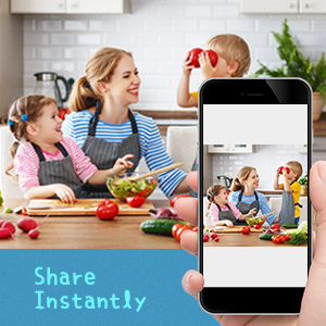 6.Share Memories Instantly