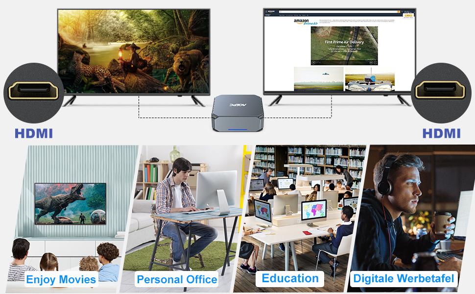 Windows 10 Pro mini desktop computer