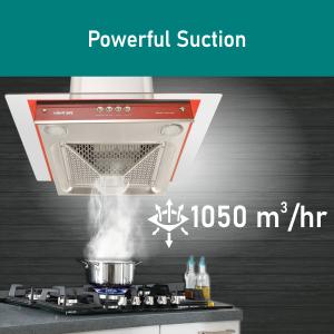 Poweful 1050 m3/hr Suction