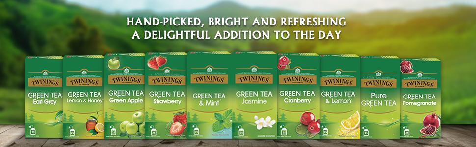 Twinings Jasmine and Green Tea, 25 Tea Bags