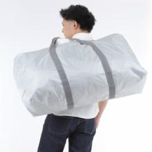 大容量バッグ,ランドリーバッグ,シルバー,特大バッグ,