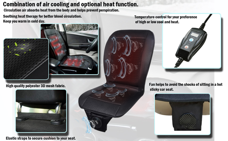 Plush Car Heating Cushion Rapid Heating Timing Suitable for Winter Perfect for Cold Weather And Winter Driving Keep Warm General Purposefor Front 12V Seat Cushion Easy To Use /& Universal,Beige