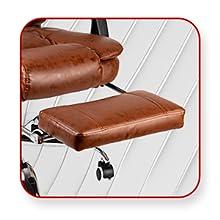 Kepler Brooks, Office Chair, Furniture, High Back Office Chair, Sturdy legrest
