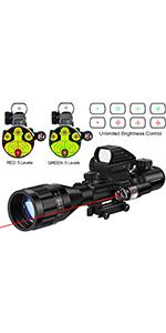 4-16x50AO rifle scope
