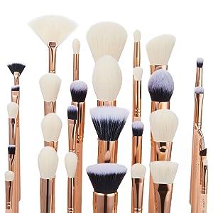 soft makeup brushes