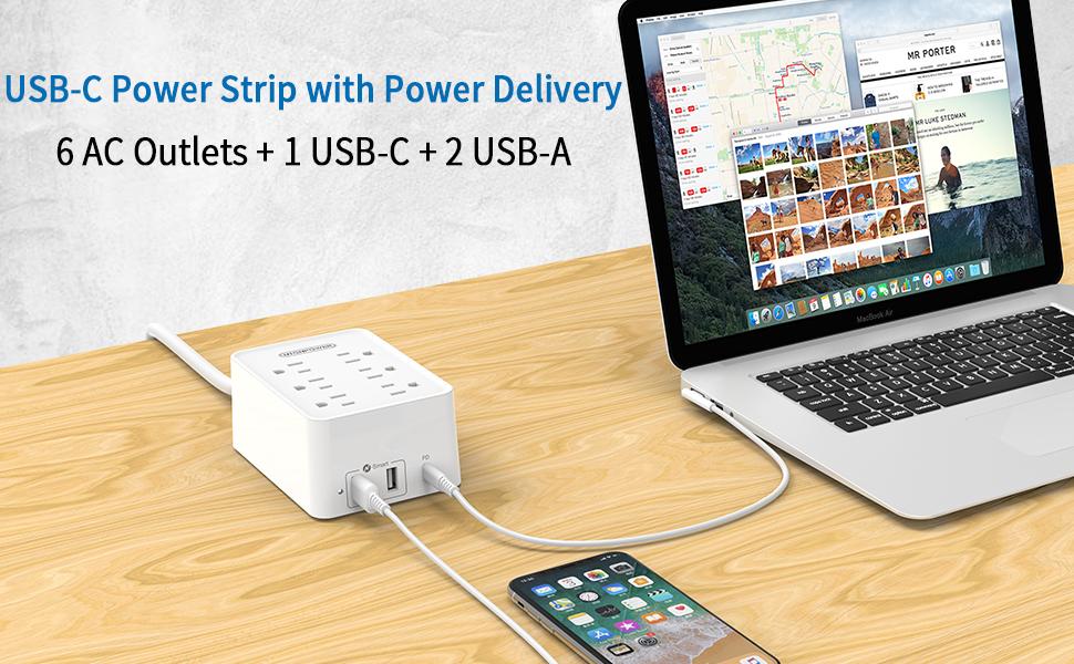 usb c power strip