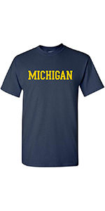 NCAA Basic Block Adult Short Sleeve T Shirt