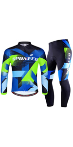 long sleeve cycling clothing