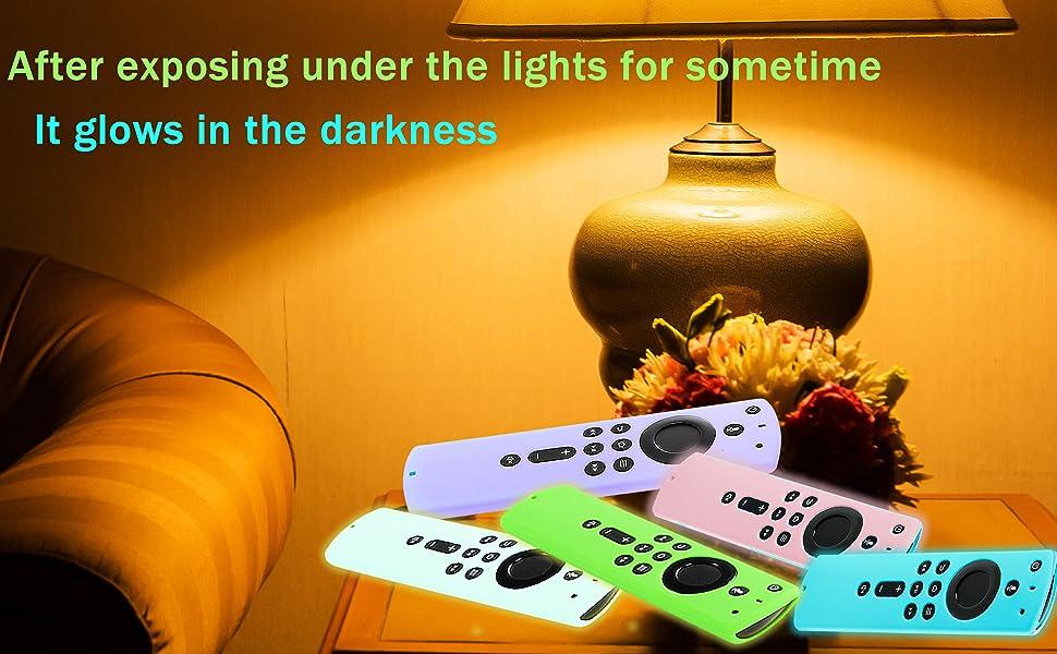 Fire Stick Remote Glow in The Dark