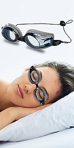 Wahah Clear Anti-Fog Dr Eye Relief Mask, CPAP Eye Mask for Sleeping