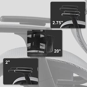 3D armrests