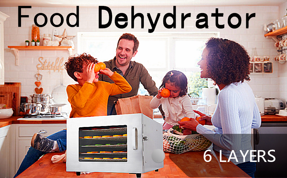 6 Layers Food-Dehydrator