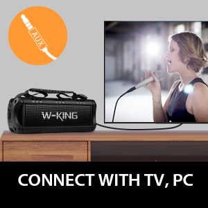 Connect with TV, PC