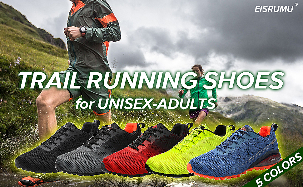 Unisex Trail Running Shoes Men's Hiking Shoes Cross-Country Trekking Sports Trainers Walking Shoes