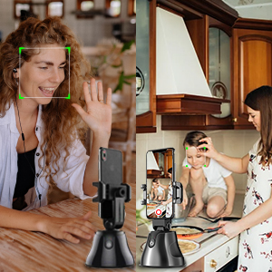How to use the 360° object tracking holder