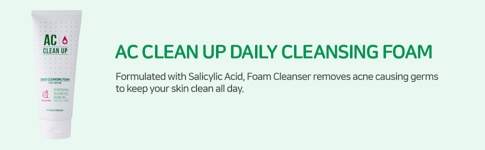 AC Clean Up Daily Cleansing Foam