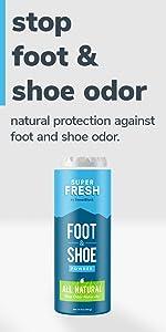 Super Fresh Foot and Shoe Powder