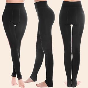 Legging Mujer, Leggings Negros, Polainas Mujer, Cálido Invierno ...