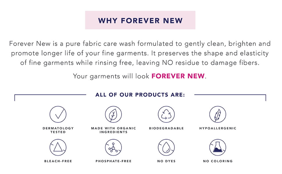 forever new, laundry detergent, laundry care, laundry cleaner