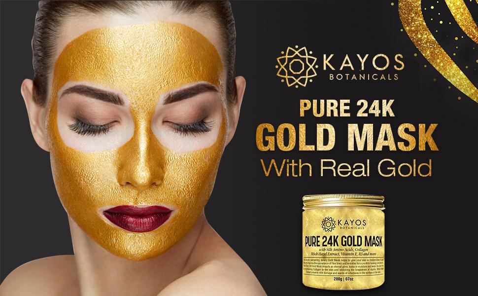 Kayos gold mask