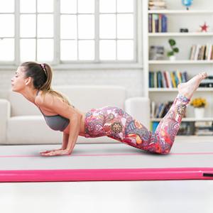 inflatable gymnastics mat
