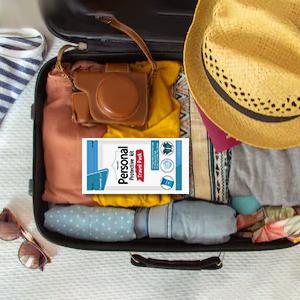ppe kit in travel bag
