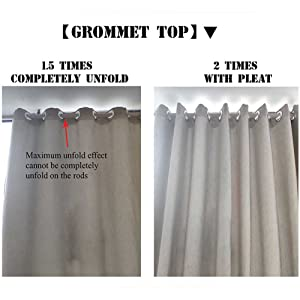 Size for Grommet Top