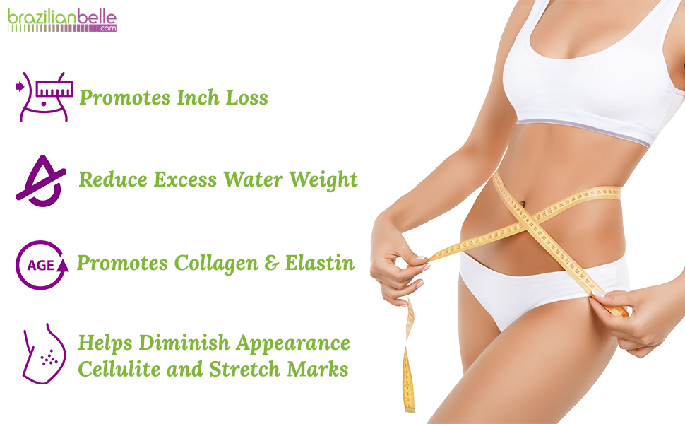 promotes inch loss cold gel slimming cream