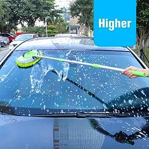 microfiber car wash pole