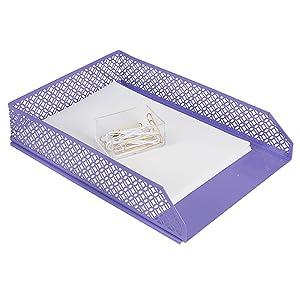 Purple Paper Tray