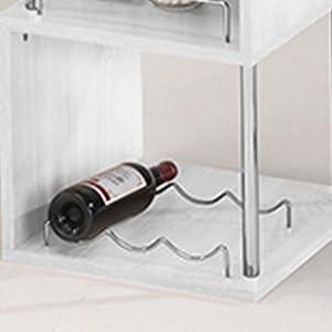 three wine rack