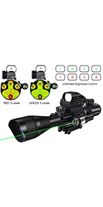4-12x50 rifle scope