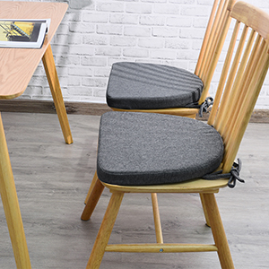 chair cushion with ties for dining chairs