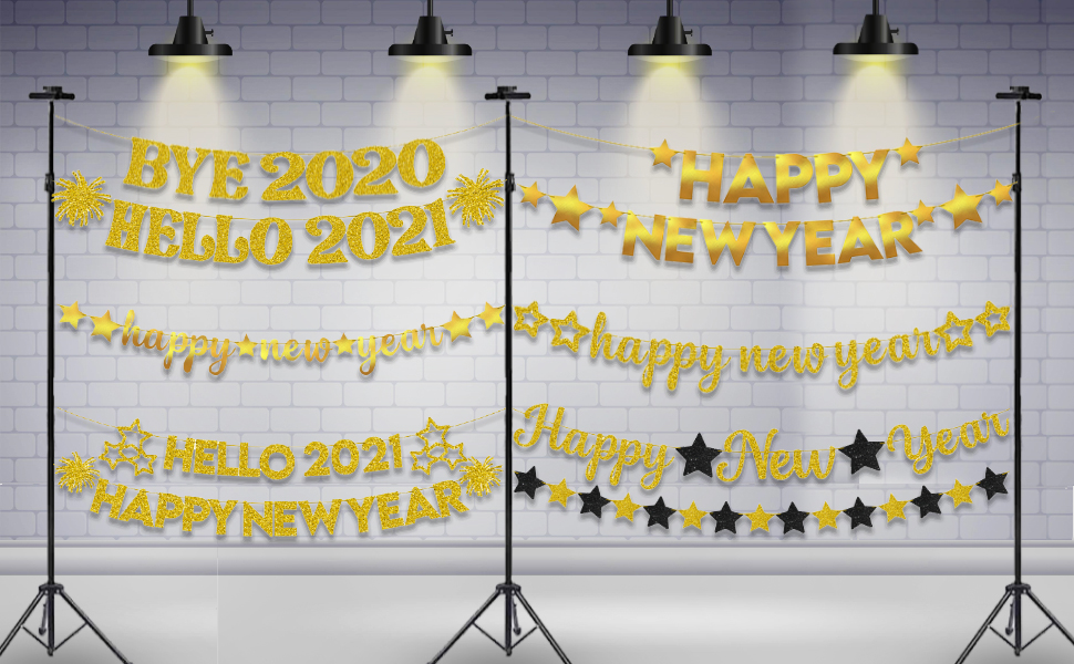 New Year Eve Party Supplies 2021