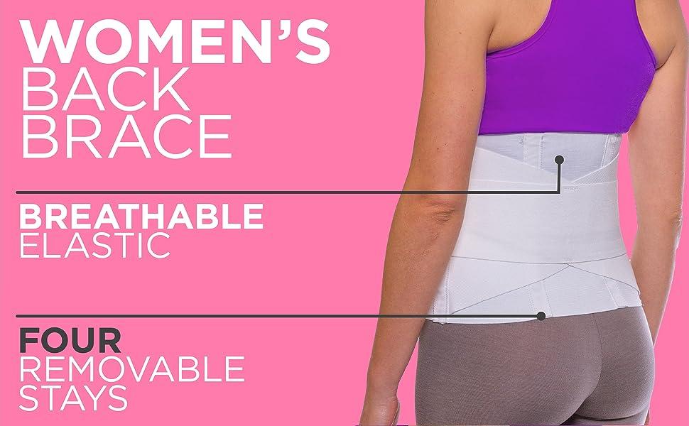 womens elastic back brace