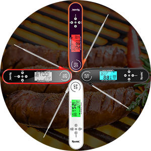 4 color backlight thermometer